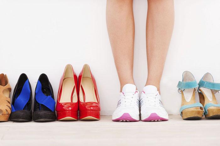 کفش مناسب برای پا چه کفشی است؟