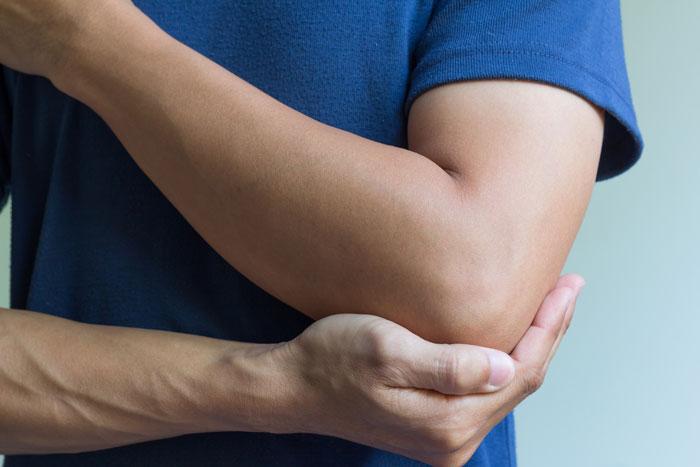 محدودیت حرکت آرنج